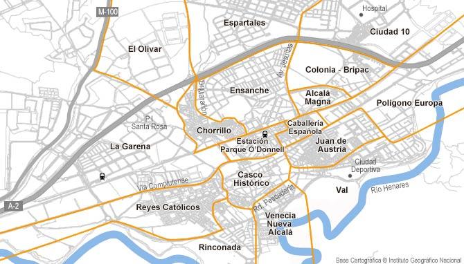 Barrio Venecia Alcala De Henares Mapa.Industrial De Alquiler En Alcala De Henares Habitaclia