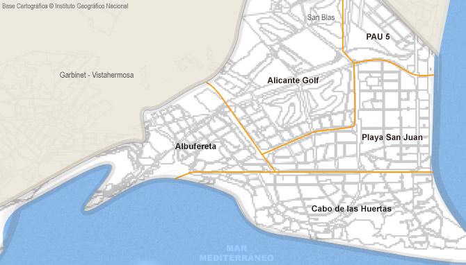 San Juan Alicante Mapa.Locale Commerciale Di Vendita In Playa De San Juan El Cabo