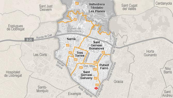 Vivienda de venta en sarri sant gervasi barcelona - Tanatori sant gervasi barcelona ...