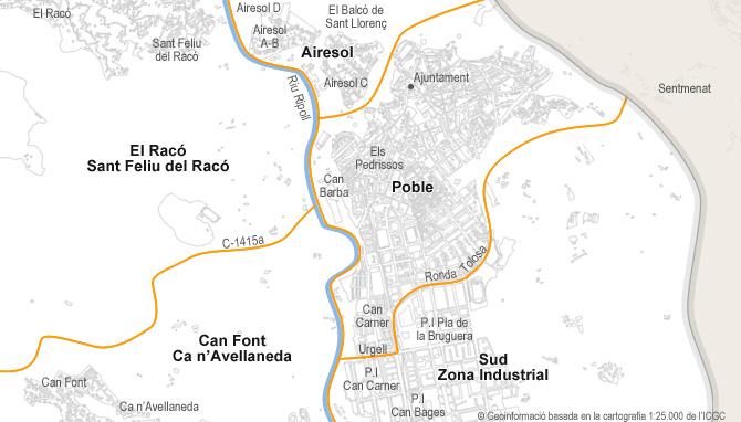 Castellar Del Valles Mapa.Parking De Venta En Castellar Del Valles Habitaclia