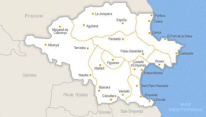 Mapa De Alt Emporda.Casa De Venta En Alt Emporda Habitaclia