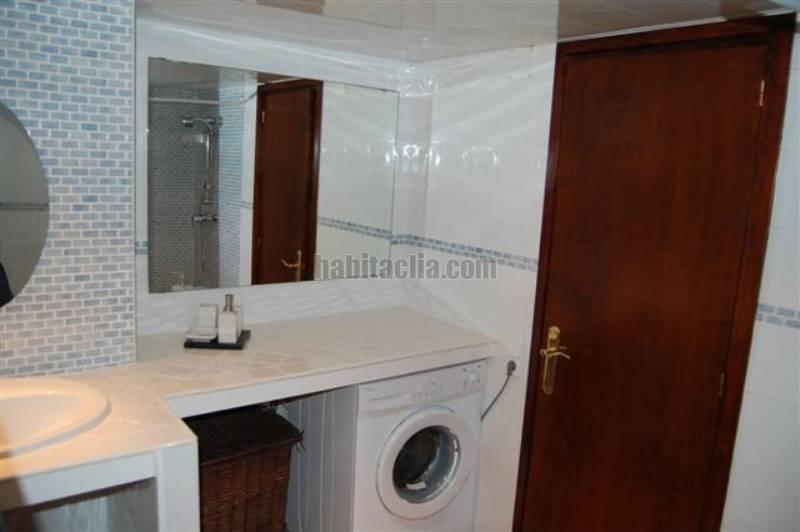 Apartamento por en avinguda costa brava estudio - Instalar lavadora en bano ...