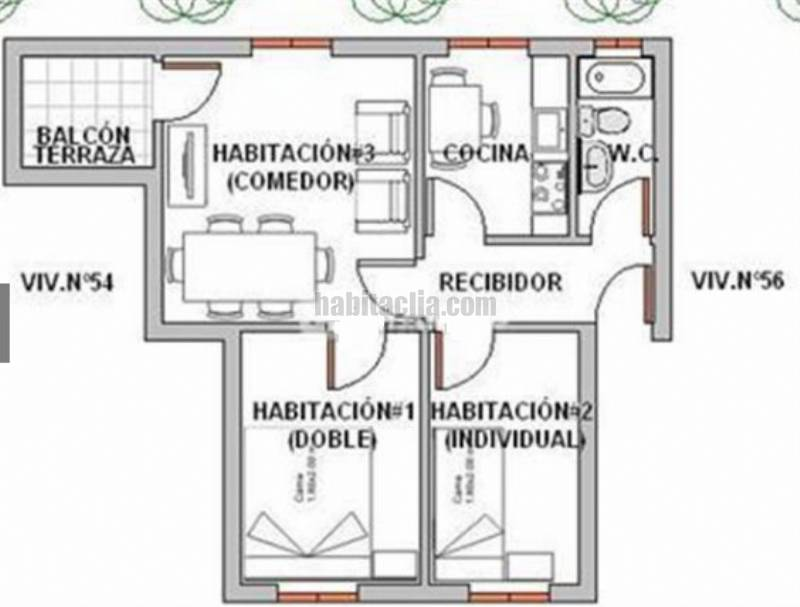 Alquiler piso por 290� en Carrer barcelona junto renfe y calle ...