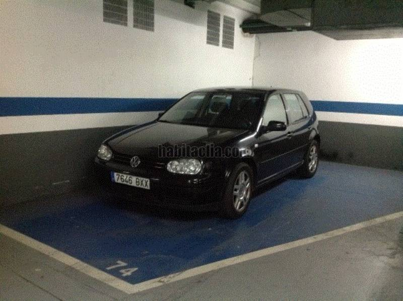 Alquiler parking coche por 110 en carrer marques de for Se alquila parking