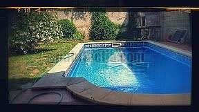 Alquiler Planta baja en Carrer sant sebastia,7. Casa adosada con jardin y piscina.