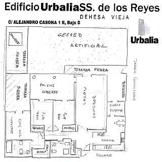 Alquiler Planta baja en Calle alejandro casona, 1. Bajo de lujo en zona norte de madrid