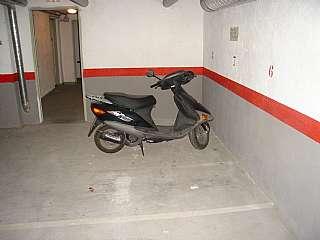 Aparcament de moto a Carrer saragossa,. Plaza de moto