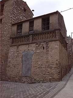 Casa a Rectoria,. Casa contruida de piedra